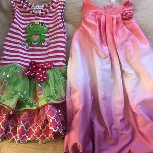 Girls size 4 dresses